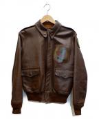 THE REAL McCOYS(ザ リアルマッコイズ)の古着「A-2ジャケット」 ブラウン