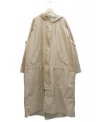 JILL STUART(ジルスチュアート)の古着「サシャモッズコート」|ベージュ