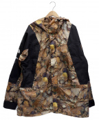 SUPREME×THE NORTH FACE(シュプリーム ×ザノースフェイス)の古着「Mountain Light Jacket」 ブラウン