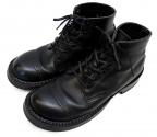 WHITES BOOTS(ホワイツ ブーツ)の古着「5' SEMI-DRESS D.TOE CAP」 ブラック