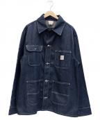 Pointer(ポインター)の古着「デニムカバーオール」 ブルー