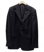 GUCCI()の古着「ストライプセットアップスーツ」|ブラック