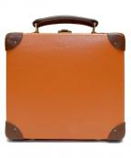 GLOBE-TROTTER(グローブトロッター)の古着「英国製ミニトランク7インチ」|オレンジ×ブラウン