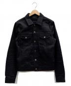 Saint Laurent Paris()の古着「デニムジャケット」|ブラック
