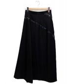 ()の古着「ミディスカート」 ブラック