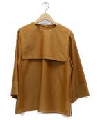 Fumiko.Aoyagi × JOURNAL STAND()の古着「セーラーカラーブラウス」|ブラウン