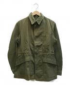 British Army(ブリティッシュアーミー)の古着「[古着]60'Sヴィンテージミリタリーシャツ」|カーキ