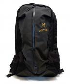 ARCTERYX()の古着「アロー 22」 ブラック