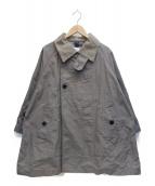 ts(s)(ティーエスエス)の古着「切替ステンカラーコート」|グレー