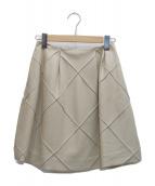 FOXEY NEWYORK(フォクシーニューヨーク)の古着「フレアスカート」|ベージュ
