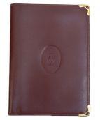 Cartier(カルティエ)の古着「手帳カバー」|ボルドー