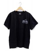 Tonari no Zingaro(トナリ ノ ジンガロ)の古着「kaikai kiki House T」|ブラック