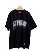 SUPREME(シュプリーム)の古着「Blurred Arc S/S Top」|ブラック