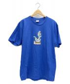 SUPREME(シュプリーム)の古着「Dinosaur Tee」|ブルー