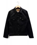 LEVIS(リーバイス)の古着「3rd typeトラッカージャケット」|ブラック