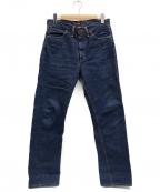 LEE()の古着「デニムパンツ」|ブルー