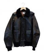 GANGSTERVILLE(ギャングスタービル)の古着「G1フライトレザージャケtット」|ブラック