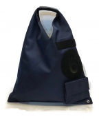 MM6 Maison Margiela()の古着「Japanese スモールパッチワークバッグ」|ネイビー