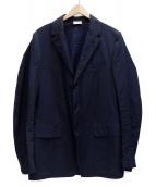 ()の古着「3Bコットンテーラードジャケット」|ネイビー