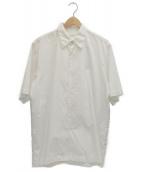 DRIES VAN NOTEN(ドリスヴァンノッテン)の古着「ベーシックワイドシャツ」|ホワイト