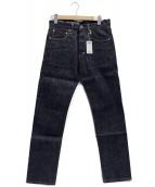 ()の古着「SELVEDGE RAW DENIM PANTS」|インディゴ