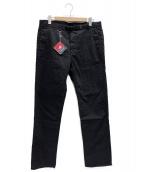 ()の古着「Stretch Webbing Belt Pants」|ブラック
