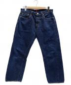 RESOLUTE(リゾルト)の古着「711 デニムパンツ」|インディゴ