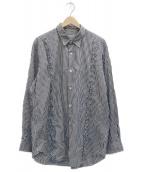 ()の古着「ギンガムチェックシャツ」|ホワイト×ブラック