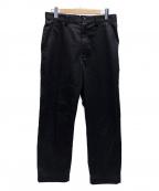 eYe COMME des GARCONS JUNYAWAT(コム デ ギャルソン ジュンヤ ワタナベ マン)の古着「綿エステルツイルトラウザー」 ブラック
