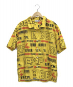 BlackEyePatch(ブラックアイパッチ)の古着「4 EVER S/S SHIRT」|イエロー