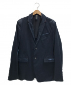 MIHARA YASUHIRO(ミハラヤスヒロ)の古着「CHINO DAMAGED JACKET」|ネイビー