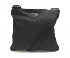 PRADA(プラダ)の古着「ナイロンショルダーバッグ」 ブラック