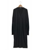 ()の古着「Cotton Lyocell Jersey V-neck L」|ブラック