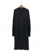 syte(サイト)の古着「Cotton Lyocell Jersey V-neck L」|ブラック