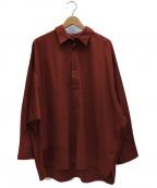 Luis(ルイス)の古着「ビッグシルエットシャツ」|ブラウン