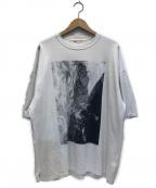 LAD MUSICIAN(ラッドミュージシャン)の古着「ビッグシルエットプリントTシャツ」 ホワイト