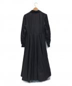foufou(フーフー)の古着「ブラウスワンピース」 ブラック