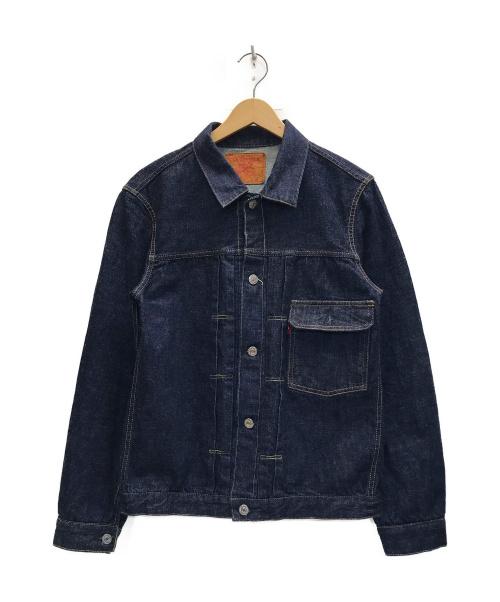 TCB jeans(ティーシービー ジーンズ)TCB jeans (ティーシービー ジーンズ) デニムジャケット インディゴ サイズ:W40の古着・服飾アイテム