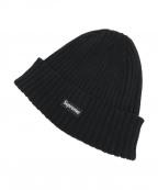SUPREME()の古着「ニット帽」|ブラック