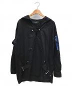 MILK BOY(ミルクボーイ)の古着「BELTED SAILOR PULLOVER」 ブラック