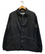 BLUCO WORK GARMENT(ブルコワークガーメント)の古着「コーチジャケット」 ブラック