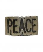 JAM HOME MADE(ジャムホームメイド)の古着「PEACEリング」 シルバー