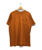 ()の古着「S/S Pocket Tee Rust」|ブラウン
