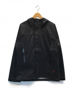 MAMMUT(マムート)の古着「Microlayer HS Hooded Jacket AF」 ブラック