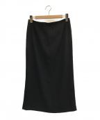 MUSE de Deuxieme Classe(ミューズ ドゥーズィエム クラス)の古着「EDENタイトスカート」|ブラック