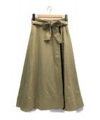 ()の古着「メラニースカート」|ベージュ