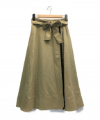 JILL STUART(ジルスチュアート)の古着「メラニースカート」|ベージュ