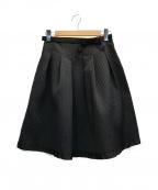 M'S GRACY(エムズグレイシー)の古着「ポンチリボンフレアスカート」 ブラック