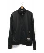 ()の古着「ロゴトラックジャケット」|ブラック