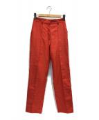 ()の古着「POLISH TAPERED PANTS」|オレンジ